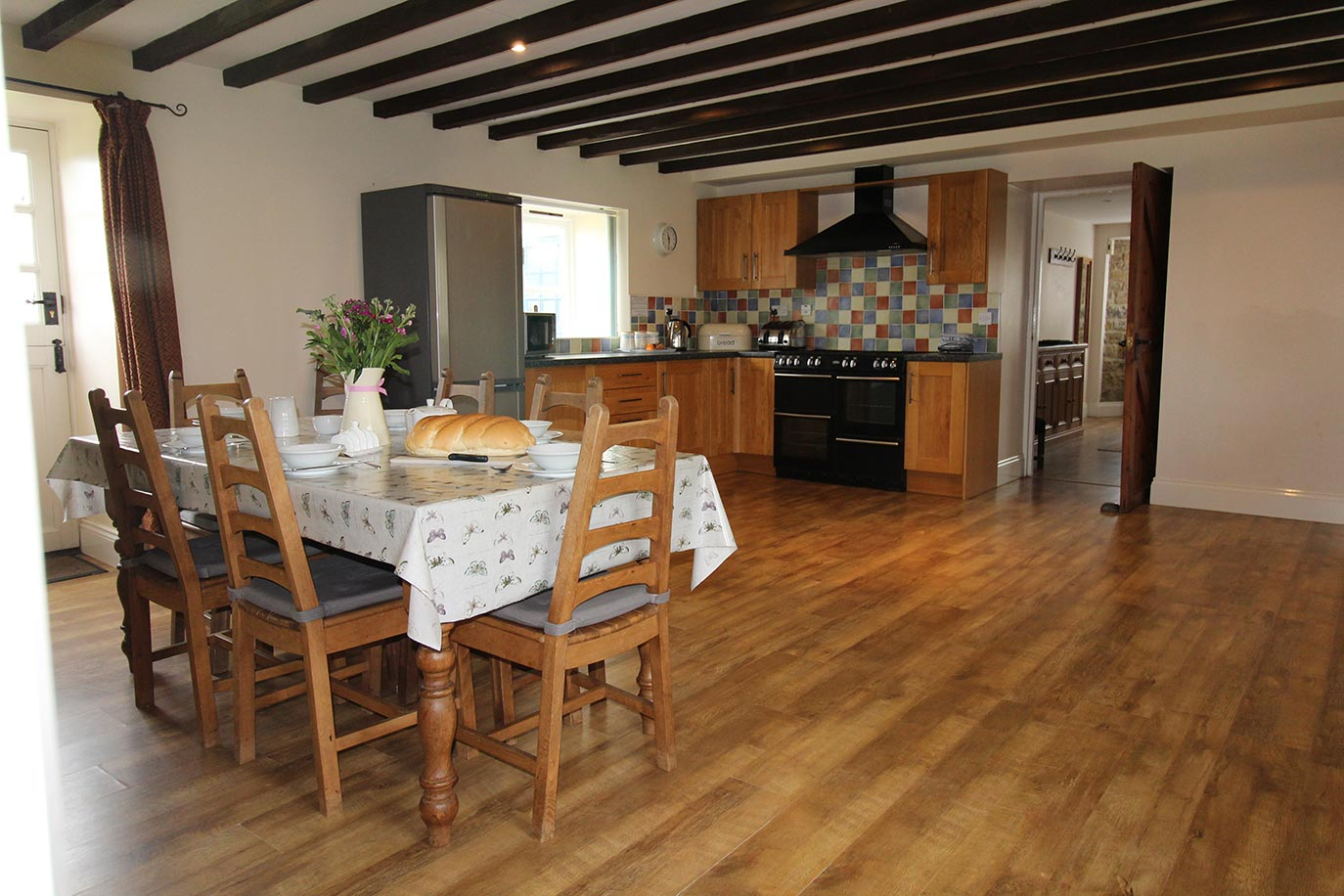 Jacobswell House kitchen dining area | Burradon Farm Houses & Cottages