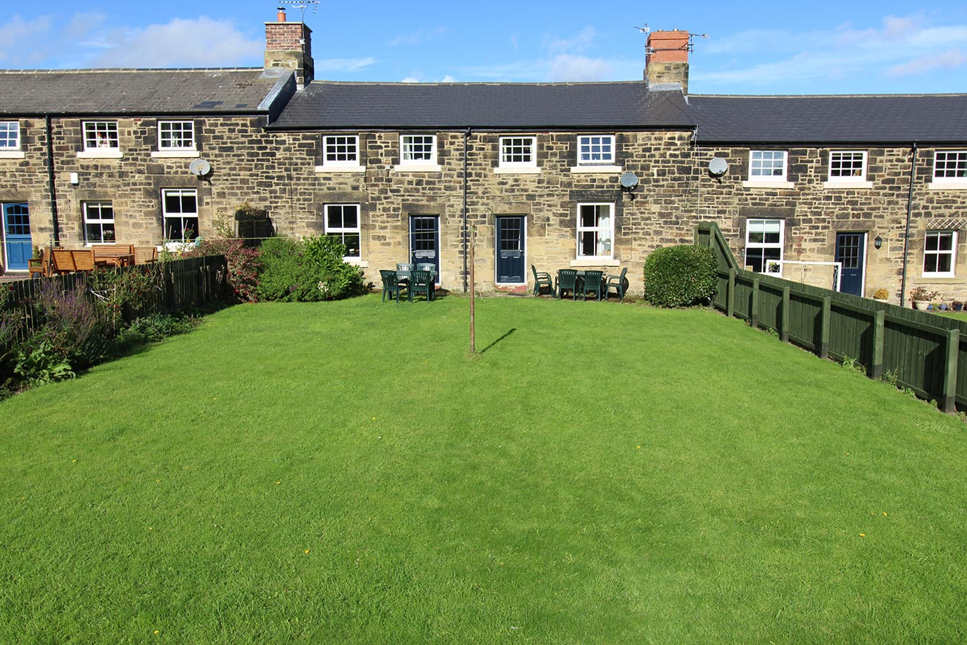 No 3 & No 4 Farm Cottage exterior | Burradon Farm Houses & Cottages