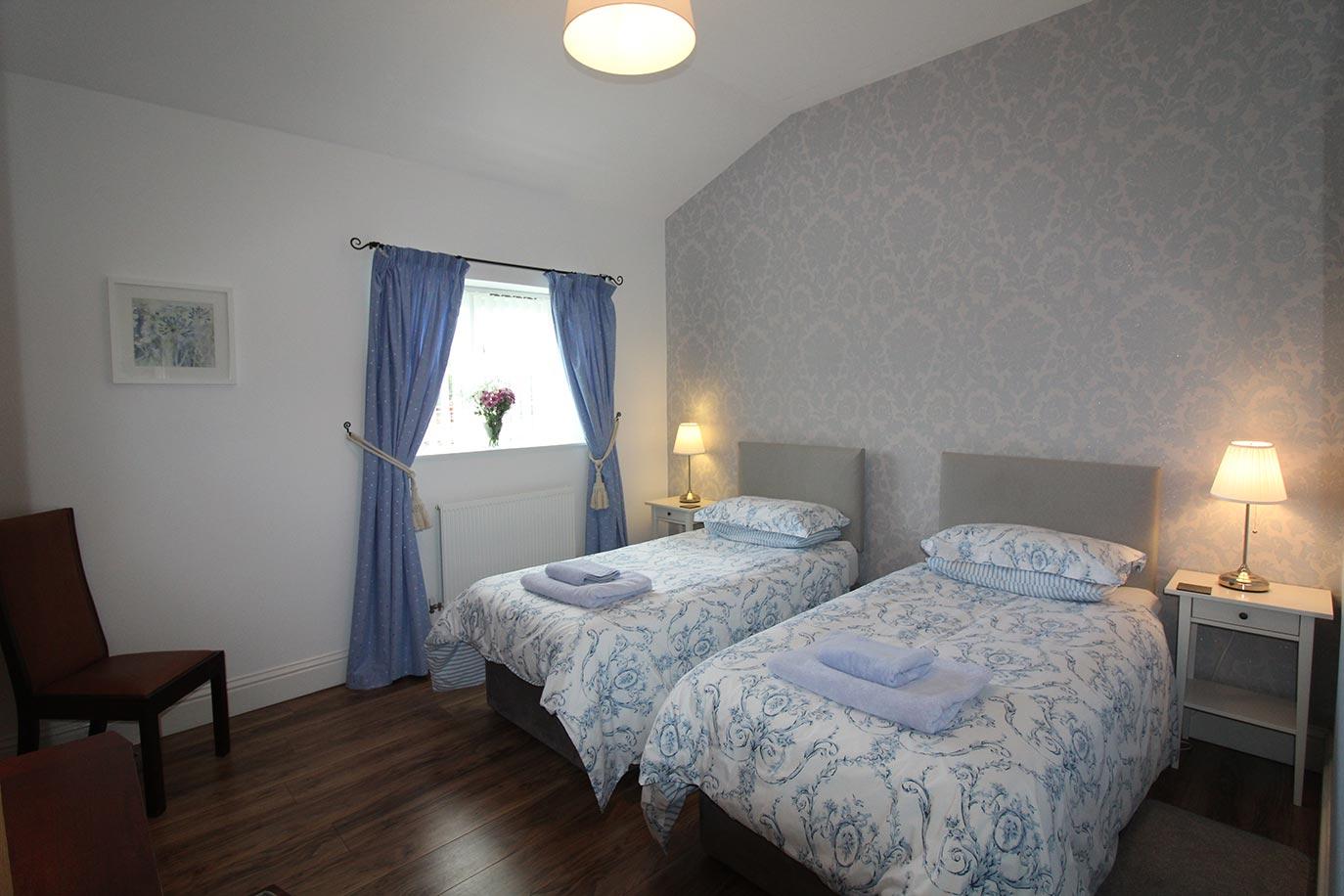 Wheatlands Cottage bedroom | Burradon Farm Houses & Cottages