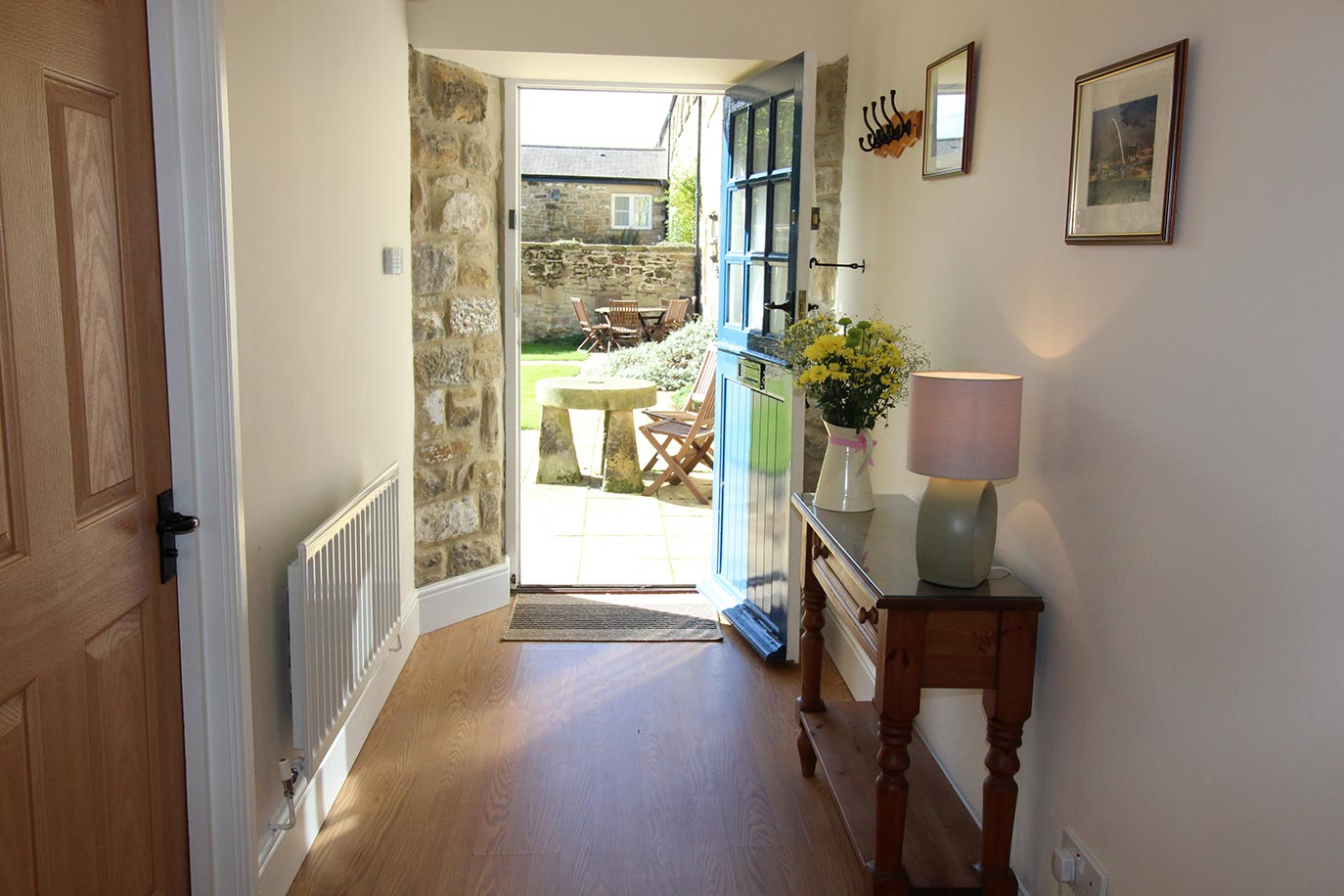 Maltpool Cottage Hallway | Burradon Farm Houses & Cottages