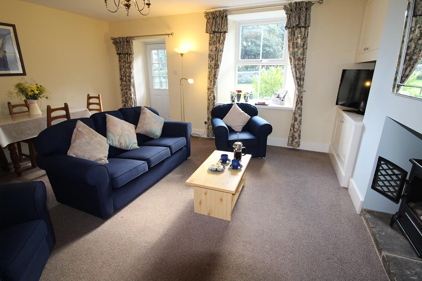 No 3 Farm Cottage lounge | Burradon Farm Houses & Cottages