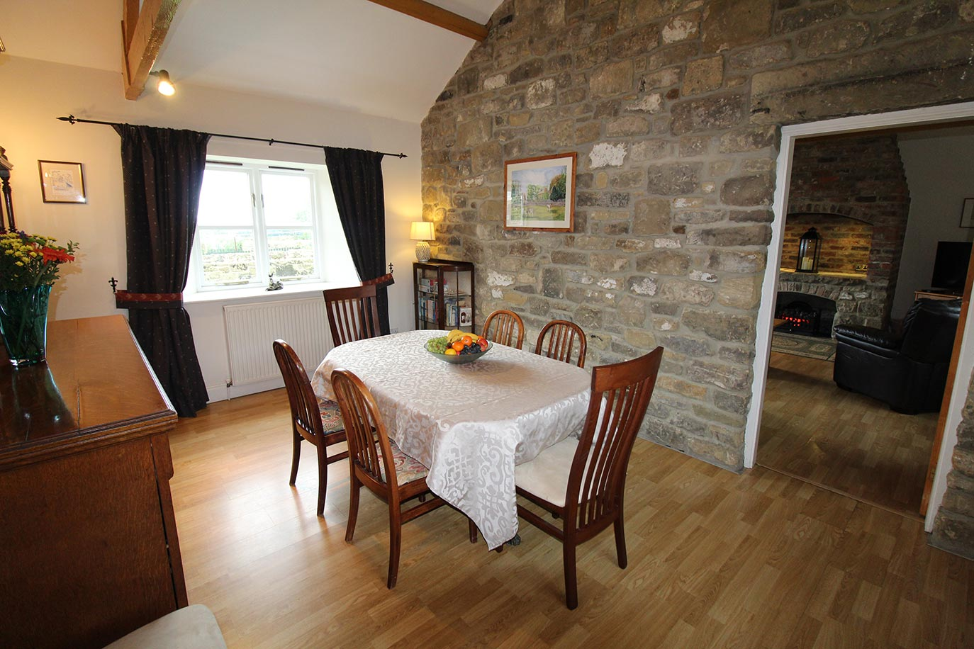 Forge Cottage Dining room | Burradon Farm Houses & Cottages