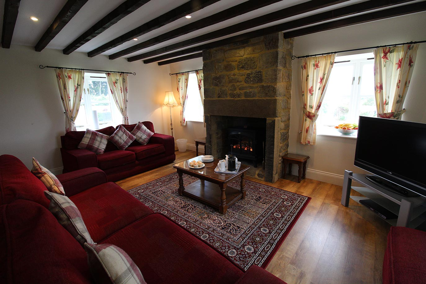 Jacobswell House lounge | Burradon Farm Houses & Cottages