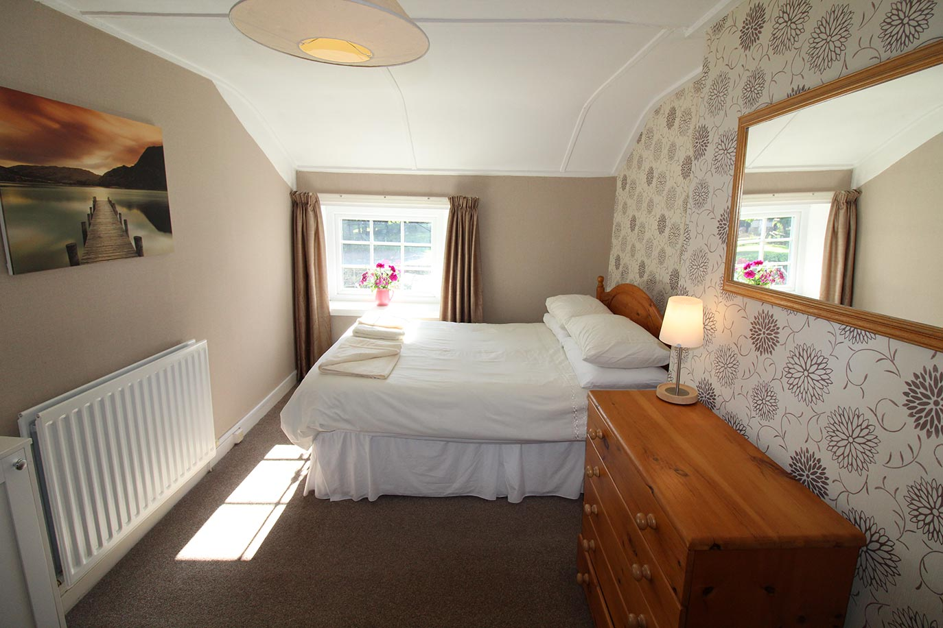 No 3 Farm Cottage main bedroom | Burradon Farm Houses & Cottages