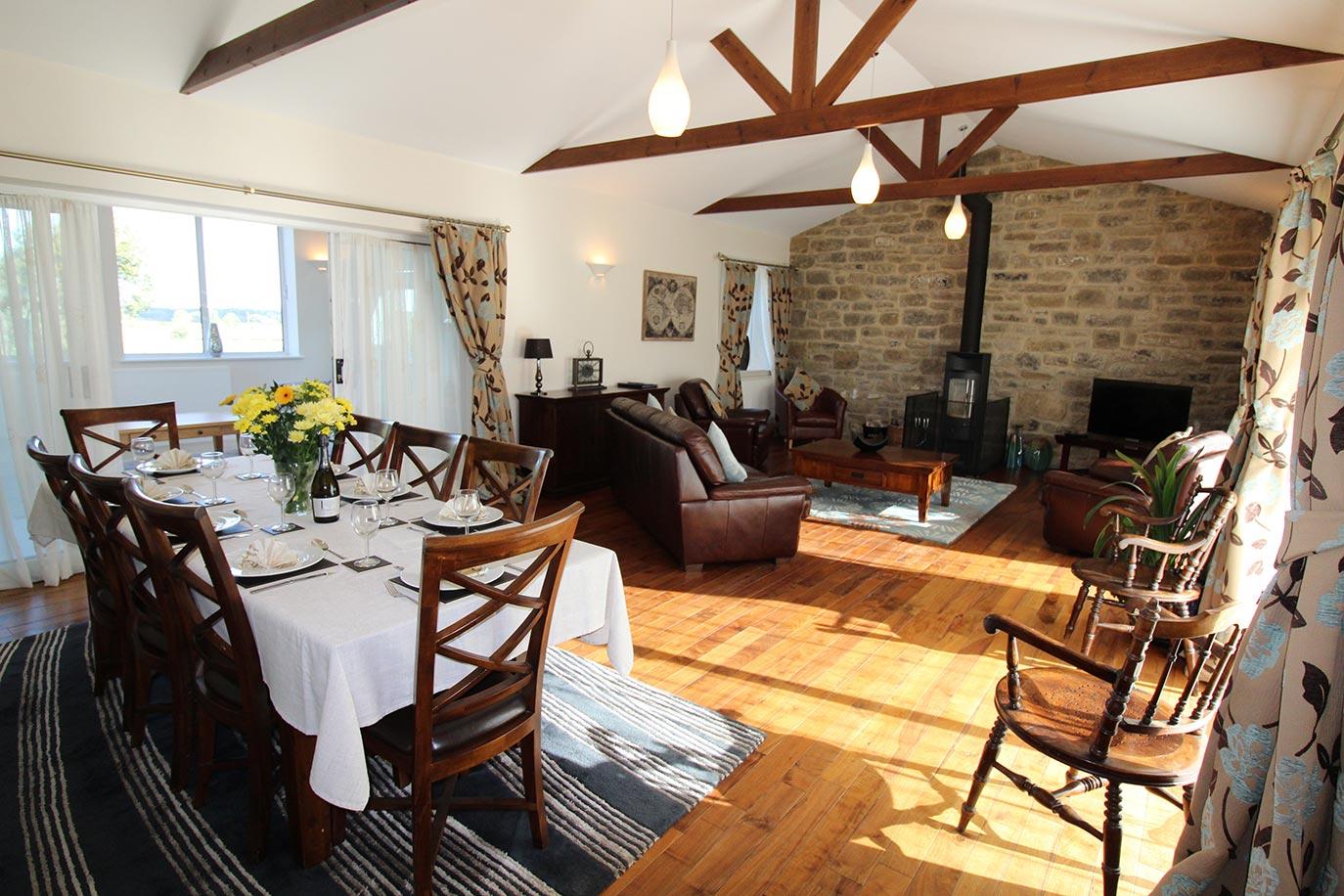Wheatlands Cottage Lounge Diner | Burradon Farm Houses & Cottages