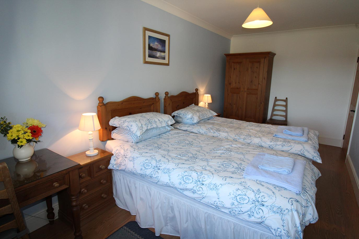 Maltpool Cottage bedroom | Burradon Farm Houses & Cottages in