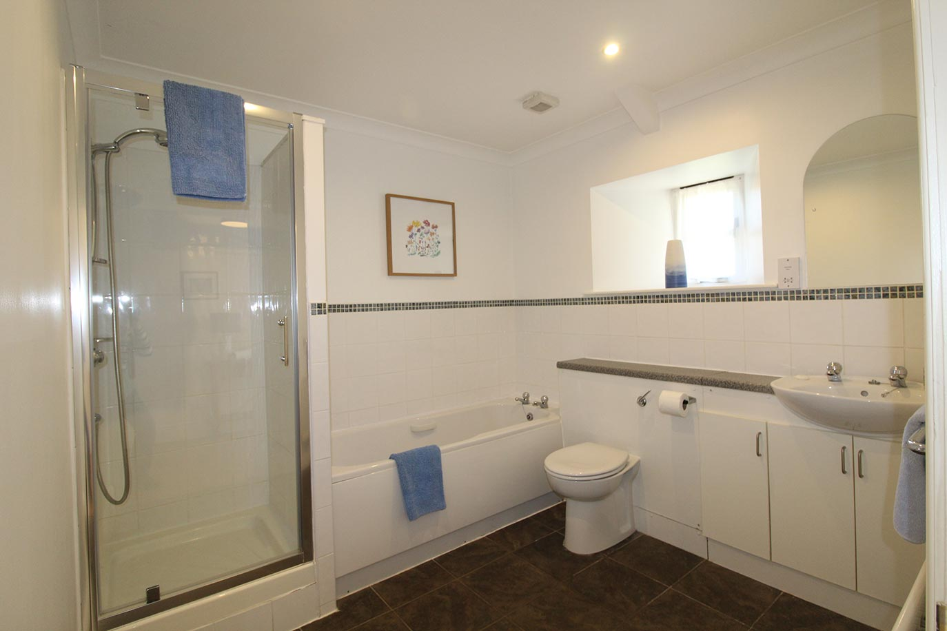 Maltpool Cottage family bathroom | Burradon Farm Houses & Cottages