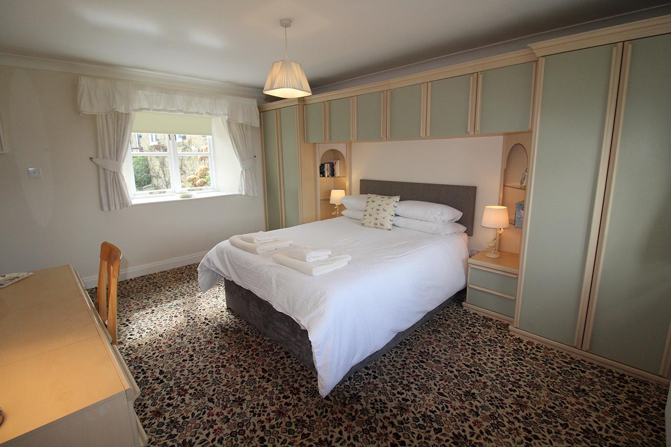 View of Rose Cottage bedroom | Burradon Farm Houses & Cottages