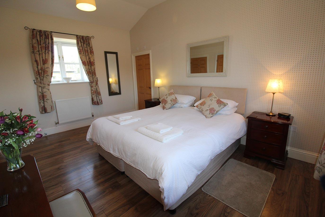 Wheatlands Cottage Master Bedroom | Burradon Farm Houses & Cottages