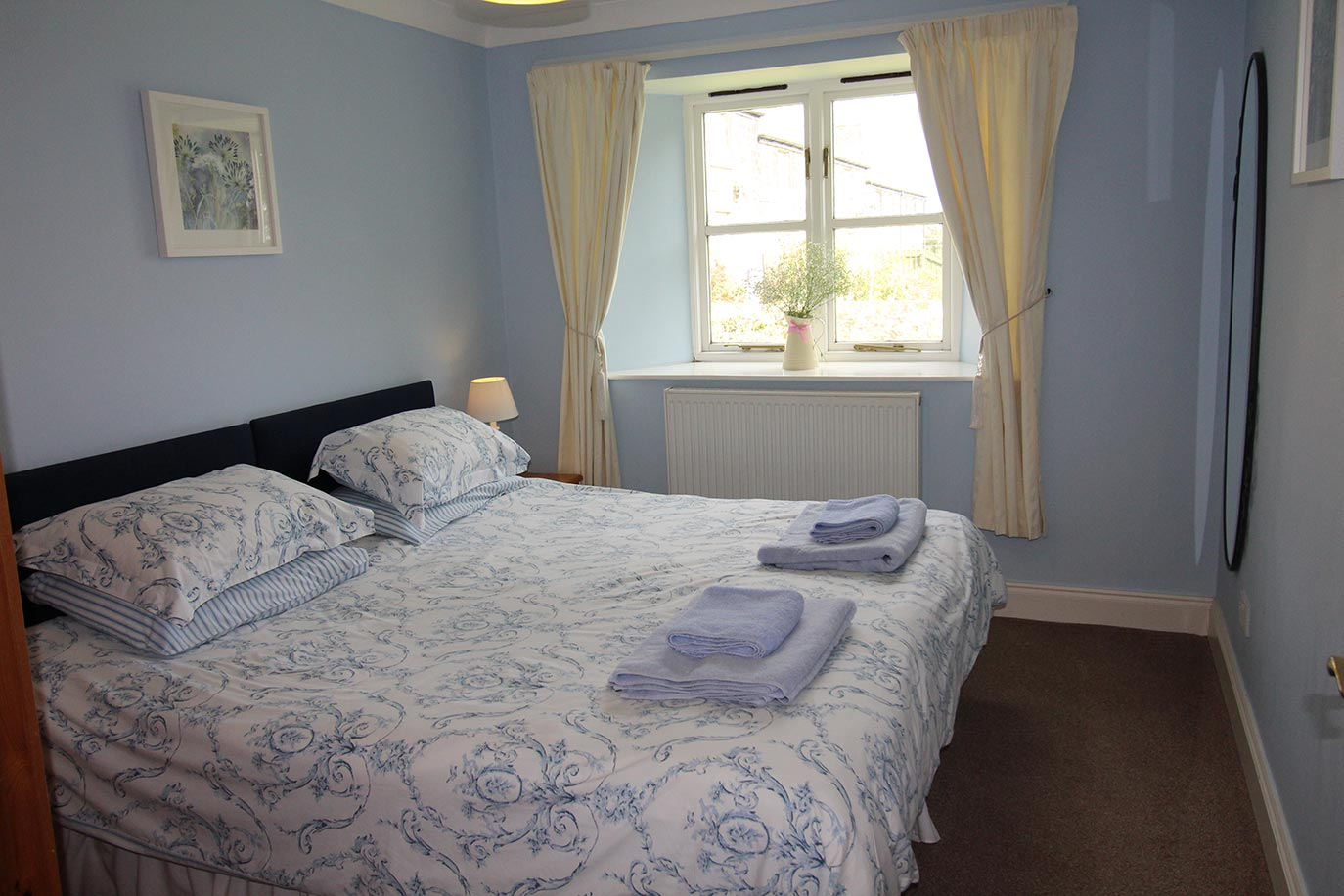 Forge Cottage bedroom | Burradon Farm Houses & Cottages