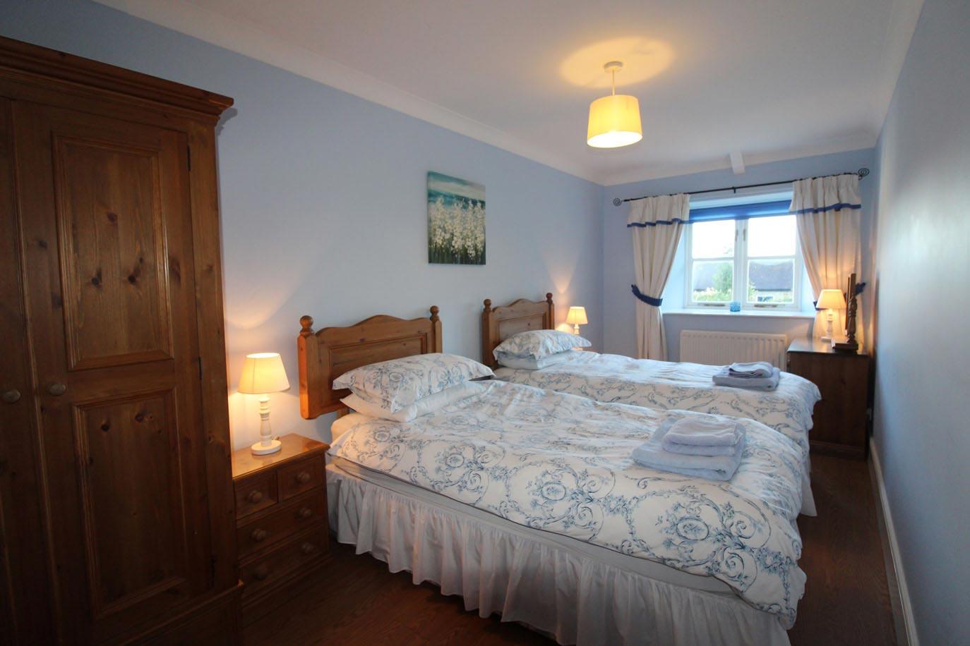 Buttermilk Cottage bedroom | Burradon Farm Houses & Cottages