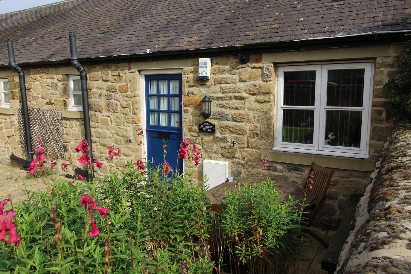 Buttermilk Cottage exterior | Burradon Farm Houses & Cottages