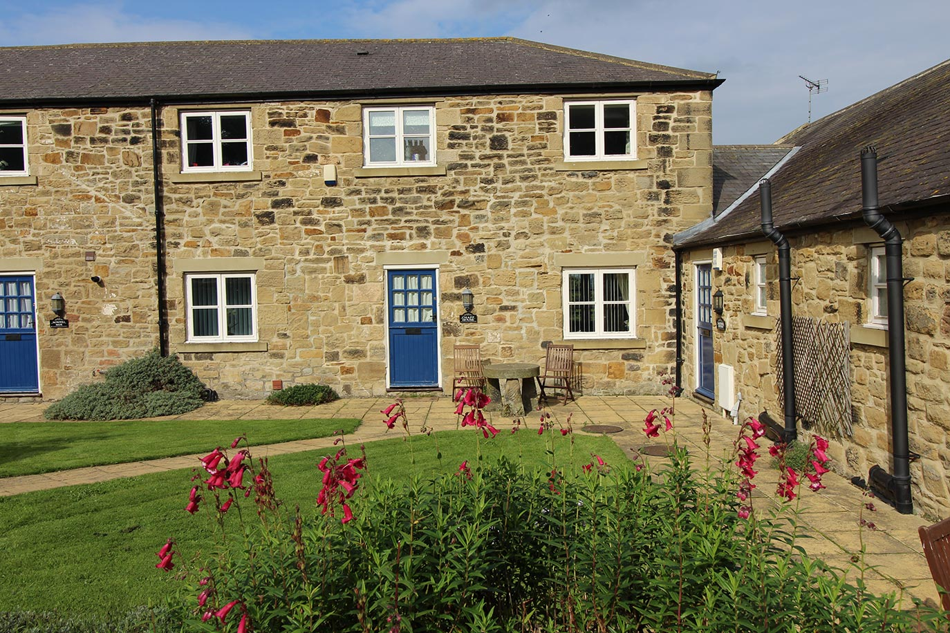 Chaff House exterior | Burradon Farm Houses & Cottages