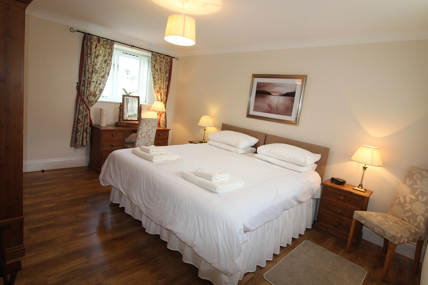 Chaff House Master Bedroom | Burradon Farm