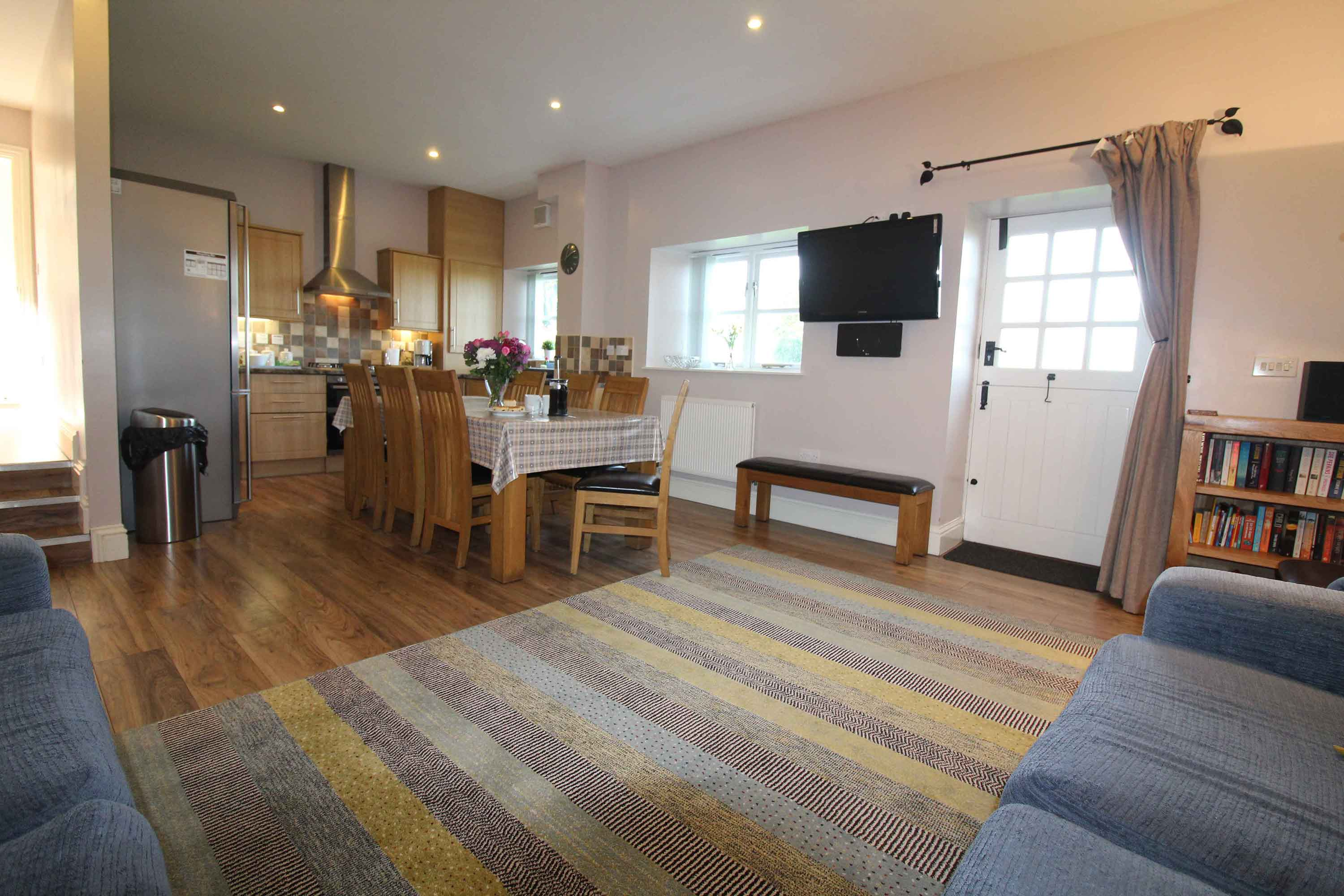 Briarhill House open plan living area | Burradon Farm Houses & Cottages