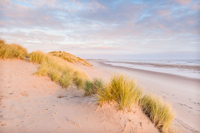Druridge Bay beach