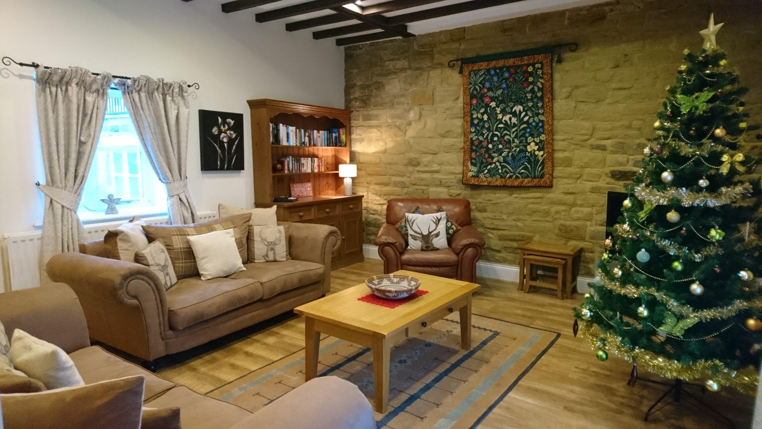 Christmas and New Year at Burradon Farm | Haselor House | Burradon Farm Houses & Cottages